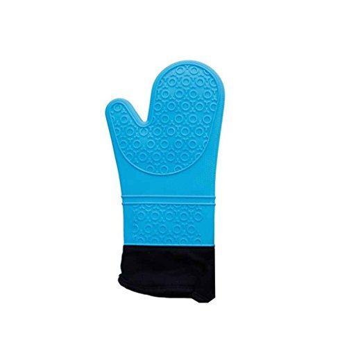 GOTTING 1Pc Hitzebeständige BBQ Grilling Handschuhe Anti-Blockier-System Professionelle Ofen Koch Fäustling - Wasser-ofen-system