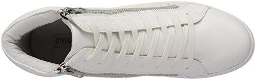 Steve Madden Womens Elyka Fashion Sneaker White/Multi