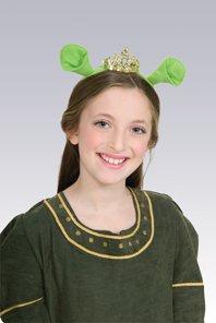 Tiara mit Ohren Fiona Shrek der (Kinder Kostüm Shrek)