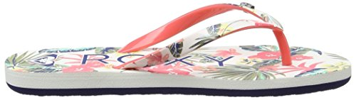 Roxy Rg Pebbles V, Tongs Fille Multicolore (RED/GREEN/BLUE)
