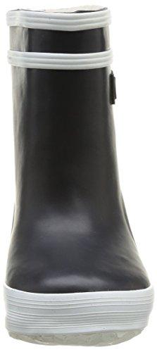 Aigle Baby Flac Fur, Chaussures Premiers pas mixte bébé Bleu (Marine)