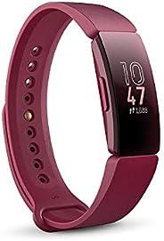 Fitbit Inspire HR - Monitores de Actividad con reconocimiento de actividad física, 5 días de batería y seguimi