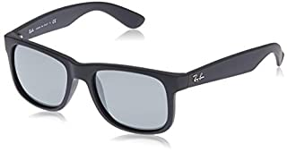 RAY BAN - 4165 - Lunettes de soleil Homme, Rubber Black/Grey Mirror Silver (B00S4QICSE) | Amazon price tracker / tracking, Amazon price history charts, Amazon price watches, Amazon price drop alerts