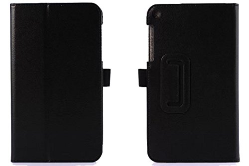 Cock Asus Fonepad 8 Fe380cg Flip Cover, Premium Leather Case Cover For Asus Fonepad 8 Fe380cg (black)