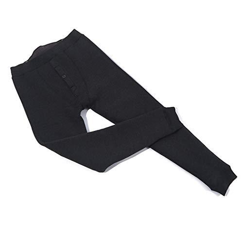 316YJWA0COL. SS500  - Winter Men's Warm Pants Belt Plus Velvet Thicken Warm Pants Silk Cotton Lightweight Heavy Fleece Pants Suitable For Outdoor Travel Camping Skiing