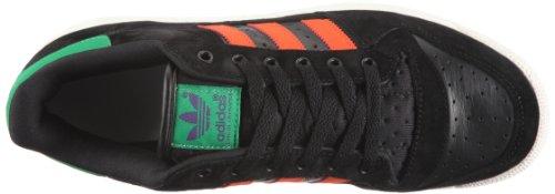 adidas Originals DECADE LO G50793 Unisex - Erwachsene Sneaker Schwarz/BLACK 1 / COLLEGIATE ORANGE / FAIRWAY