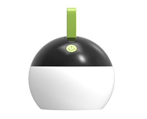 illumitec Lanterne de camping Noir 1.5 W LED – IP67–1000 mAh Batterie Li-Ion – USB – 100 Lumens (d'extérieur Lumière Lampe d'extérieur, Outdoor, lampe, camping, tentes,, lumière camping Lanterne Lampe de poche)