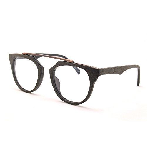 tijn-vintage-imitation-bois-cadre-lunettes-full-rim-lunettes-transparent-len-noir-medium
