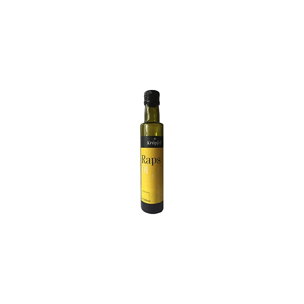 Krpfel Rapsl Kaltgepresst Nativ 100 Rein Glasflasche 250ml A Qualitt Aus Sterreich