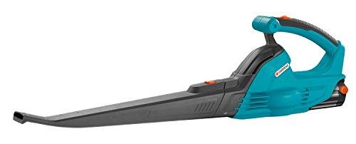 GARDENA Allround Bläser AkkuJet 18-Li: Akku-Laubbläser mit 18 V Motorleistung, mit 190 km/h Blasgeschwindigkeit, geringes Gewicht, Lieferung ohne Akku und Ladegerät (9335-55)