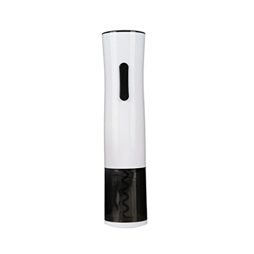 Red Wine Corkscrew Vacuum Stopper Stainless Steel Charming Electric Bottle Opener Set By MAG.AL