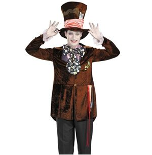 Disguise Costumes Men's Deluxe Mad Hatter