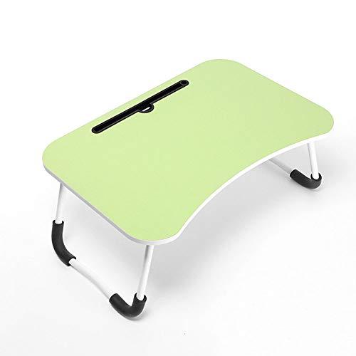 Wqzsffgg Einstellbare Laptop Nachttisch Lap Stehpult Für Bett Und Sofa Frühstück Bett-Behälter-Laptop Lap Desk Folding Frühstück Mit Kaffee Tablett Notebookständer Lesehalter (60 X 40 cm),E2