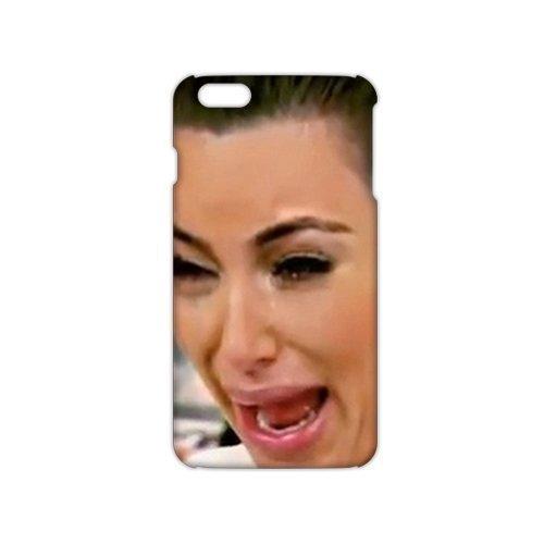 3D Motif Kim Kardashian pour femme 5Ugly Cry Faces Coque pour iPhone 5C