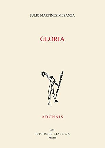 Gloria (Poesía. Adonáis)