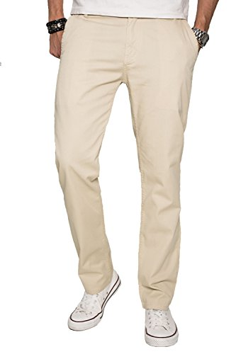 a-salvarini-herren-designer-chino-stoff-hose-chinohose-regular-fit-as016-as016-sand-w38-l34