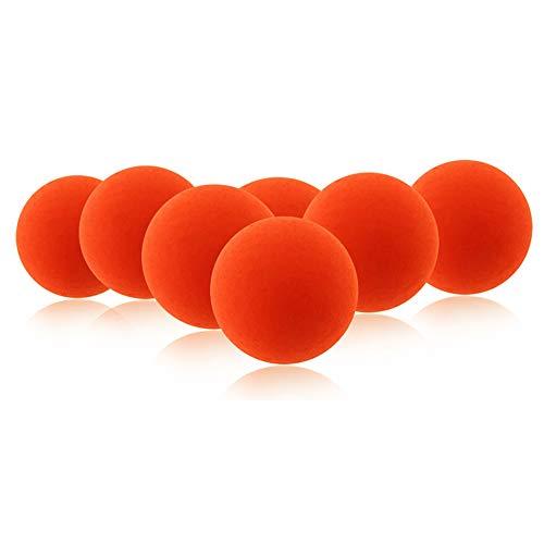 Jushi Float-Fischen-Köder-Ball 30Pcs orange EPS-Schaum-Schwimm Bobbers Drift Kugel Indicator Angelausrüstung