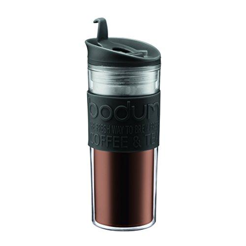 Bodum - 11101-01 - Travel Mug - Mug de Viaje - 0,45 l - Color Negro