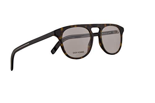 Christian Dior Homme Blacktie249 Lunettes 48-21-150 Havana Marron Avec Lentilles de Démo 086 Blacktie 249 BlackTie249