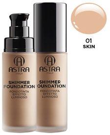 ASTRA Fdt shimmer luminoso 01 skin* - Produits de beauté