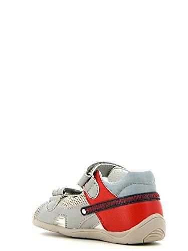 Chicco–de 01055573Sandalo Kid Velcro Gris