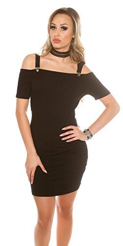 In-Stylefashion - Robe - Dos nu - Femme noir noir Noir