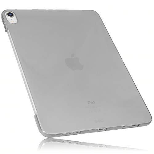 mumbi Schutzhülle für iPad Pro 2018 (12,9 Zoll) Hülle transparent schwarz