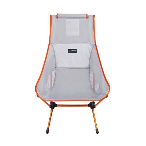 Helinox Chair Two,Campingstuhl,Faltstuhl,Aluminium,leicht,stabil,faltbar,inkl Tragetasche,Grey,one Size -