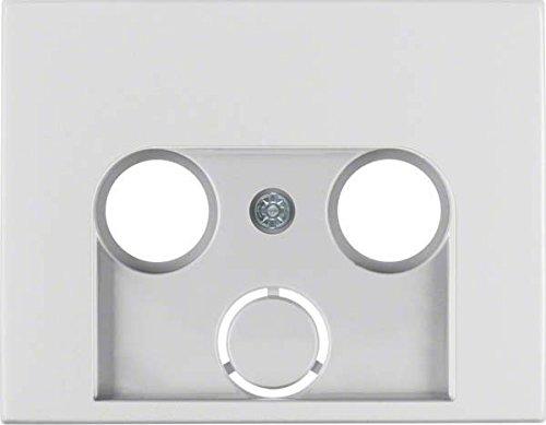 Hager 12017013 interruptor de luz Aluminio - Interruptores de luz (Aluminio, IP20,...