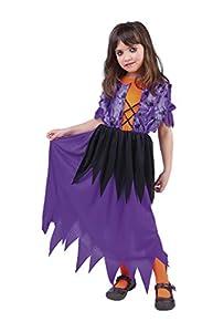 Disfraz de Bruja Pretty para niña, infantil 5-7 años (Rubie