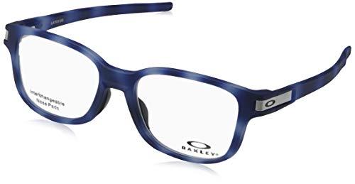 Ray-Ban Herren 0OX8114 Brillengestelle, Grau (Matte Blue Tortoise), 52