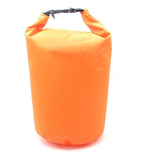 Latinaric Wasserdicht Schwimmen Driften Tasche trocken Beutel Stausack Rollbeutel Orange