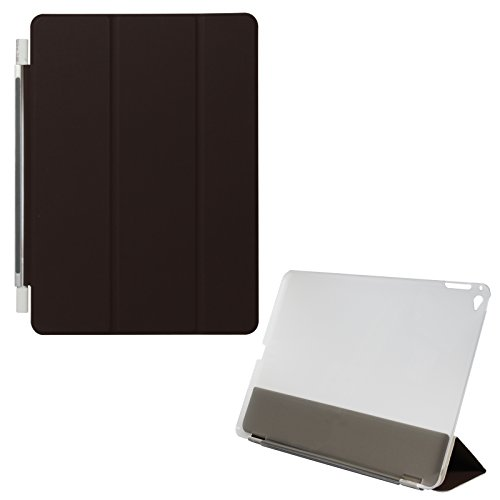 DMG Magnetic Detachble Smart Case Flip Cover for Apple iPad Air 2 (Brown)