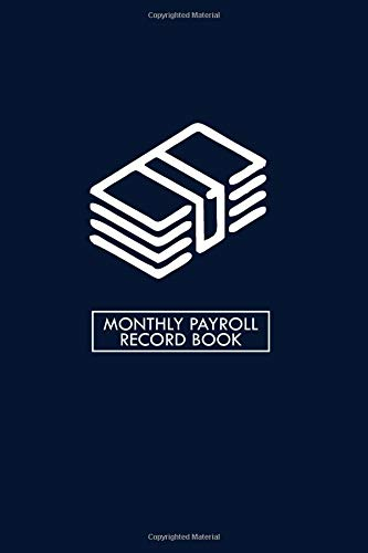 Monthly Payroll Record Book: Dai...