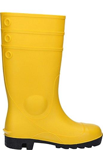 Dunlop 142pp protom. S5Unisex adulto Halbschaft stivali di gomma Giallo (giallo)