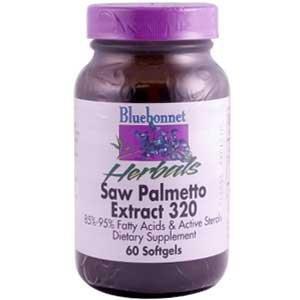 Saw Palmetto 320mg Bluebonnet 60 Softgel
