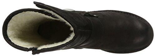 Ca'Shott Damen A14066 Biker Boots Schwarz (Black Varese)
