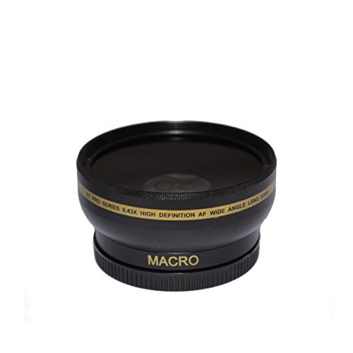52mm High Definition Wide Angle Macro Lens for Nikon AF Nikkor 50mm f/1.8D 0.43x Ultra Wide Angle Converter 52 mm Threaded AF  available at amazon for Rs.2727