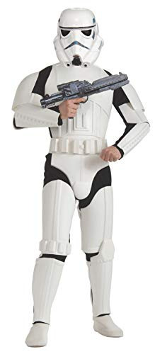Rubie's 3 888572 - Stormtrooper Deluxe Erwachsener Kostüm, Größe - Kinder Storm Trooper Kostüm