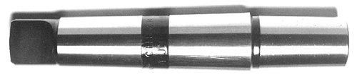 Drill America DEWA0333 Qualtech Drill Chuck Arbor, #3 Morse Taper Shank To #3 Jacobs Taper (Pack of 1) by Drill America (3 Morse Taper Arbor)