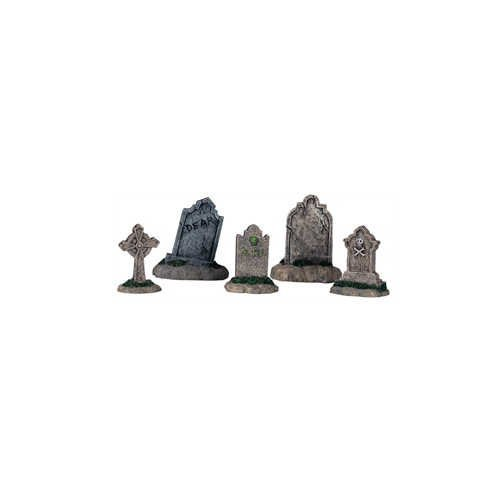 ky Town Set of 5 Tombstones by Lemax ()