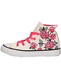 0735c49697 Converse Scarpe Sneakers Chuck Taylor All Star Hi Bambina Bianco 663623c