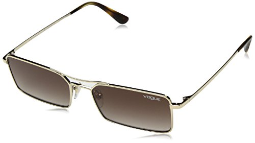 Vogue Sonnenbrillen VO 4106S BY GIGI HADID PALE GOLD/BROWN SHADED Damenbrillen
