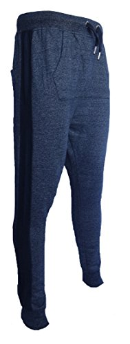 Genetic Apparel -  Pantaloni  - Basic - Uomo blu navy