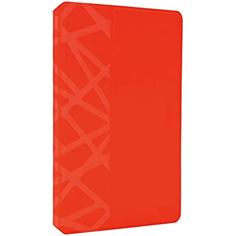 Targus Evervu - Funda EverVu para Apple iPad Air 2 rojo