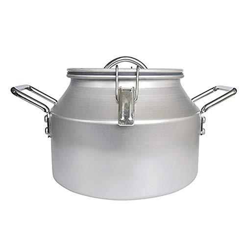 CSYY-YJ Hochdruck-Schnellkochtopf, tragbarer Suppentopf, selbstfahrender Tourtopf, lebensmittelechter Aluminium-Campingtopf (Schnellkochtopf Camping)