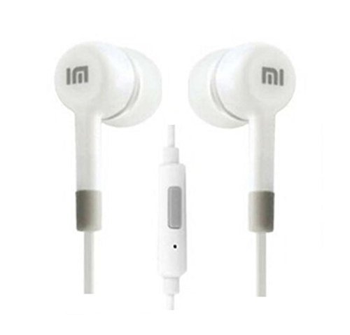 Amazing_Deal Mi Super Bass Quality Wired Earphones with Mic for All Mobile (White Color)