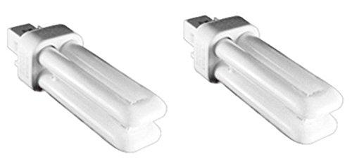 Kosnic 10W exun-d CFL Lampe-2Stück-G24d-1/2-Stiftsockel, Pure weiß 4000K, 12.000Std. Lebensdauer, 620Lumen/Kompakt, fluoreszierendes Licht, Fassung/nicht dimmbar/SKU: kft10st2/2p-840X 2 -