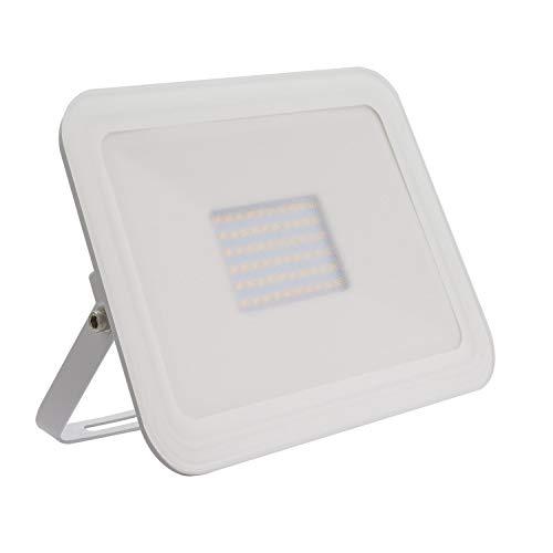 Foco Proyector LED Slim Cristal 50W Blanco Blanco Neutro 4000K-4500K
