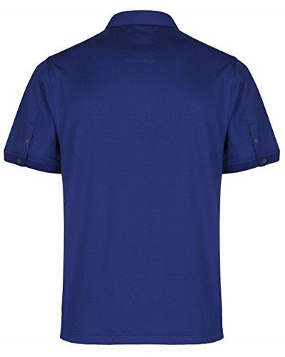 Luke 1977Herren ALI Palis Klassisches Hemd Collar Polo Shirt Lux Blue